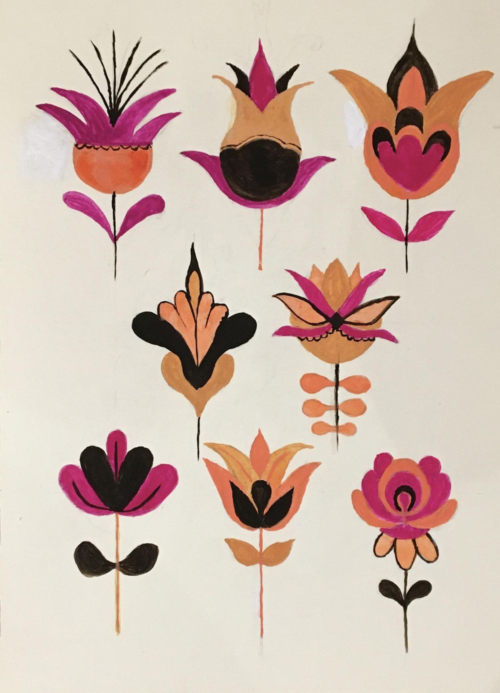 Folk Art Taxonomy - image 1 - student project