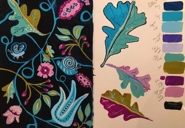 Nature in Gouache - image 2 - student project