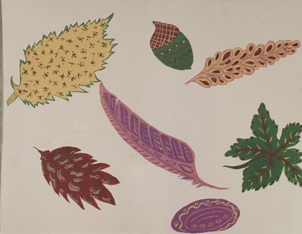 Nature in Gouache - image 8 - student project