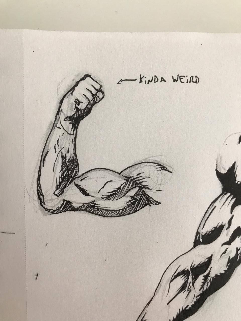 Some ripped arms - image 4 - student project