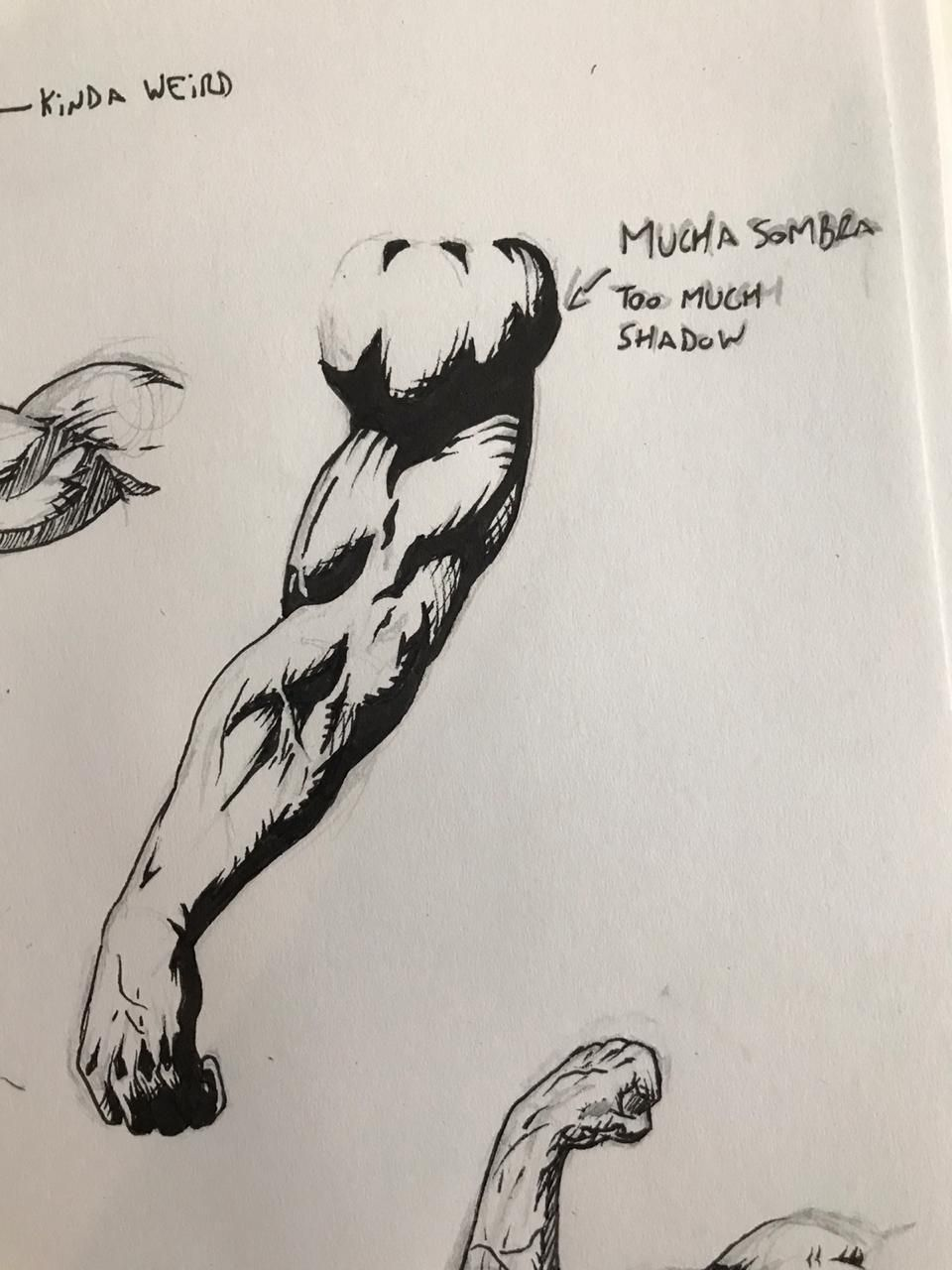 Some ripped arms - image 2 - student project