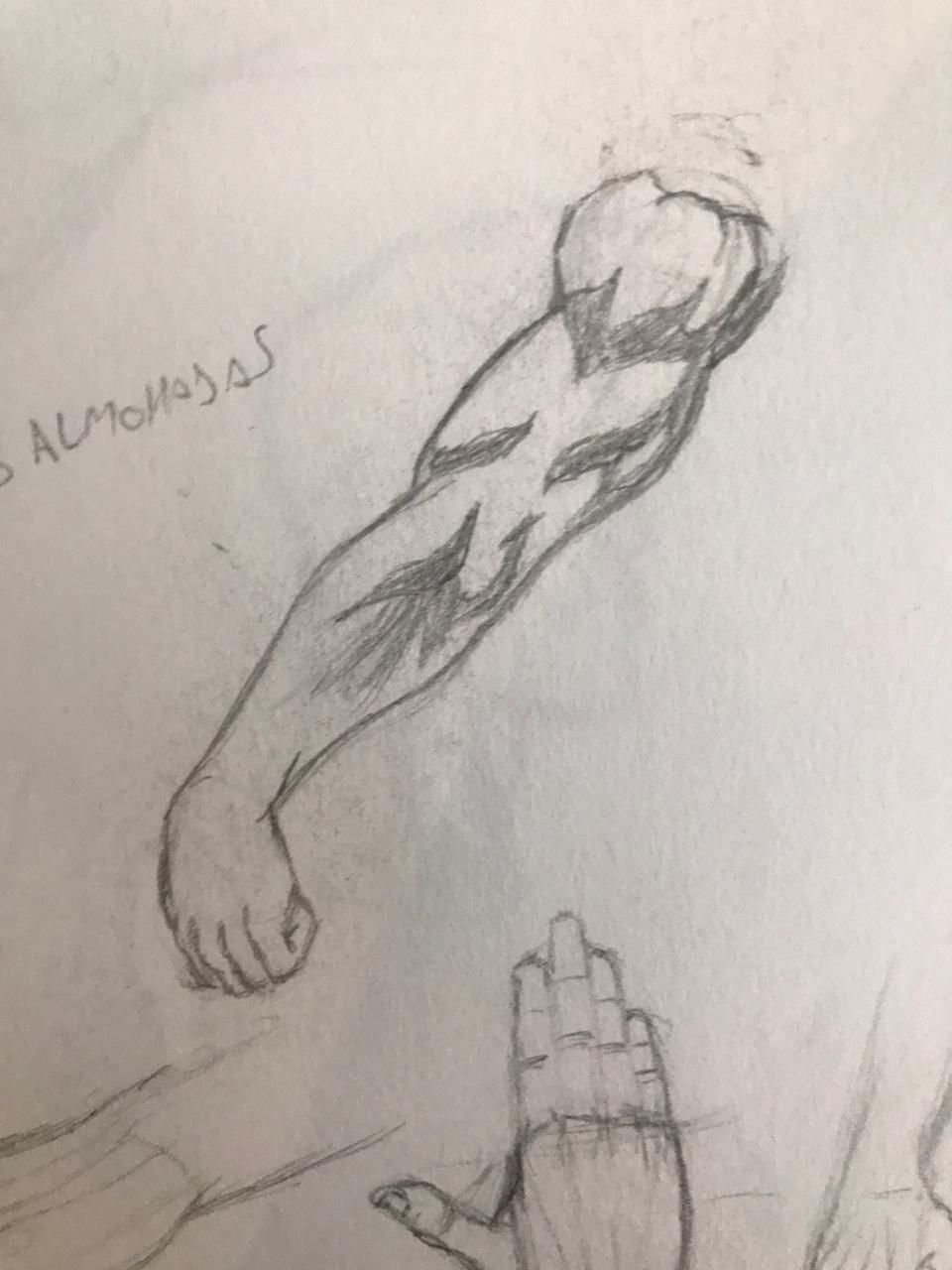 Some ripped arms - image 1 - student project