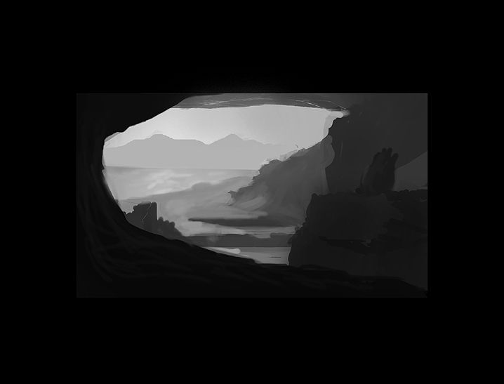 Cave/Beach - image 1 - student project