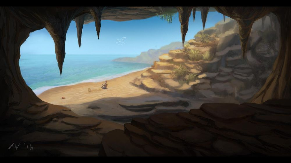 Cave/Beach - image 2 - student project