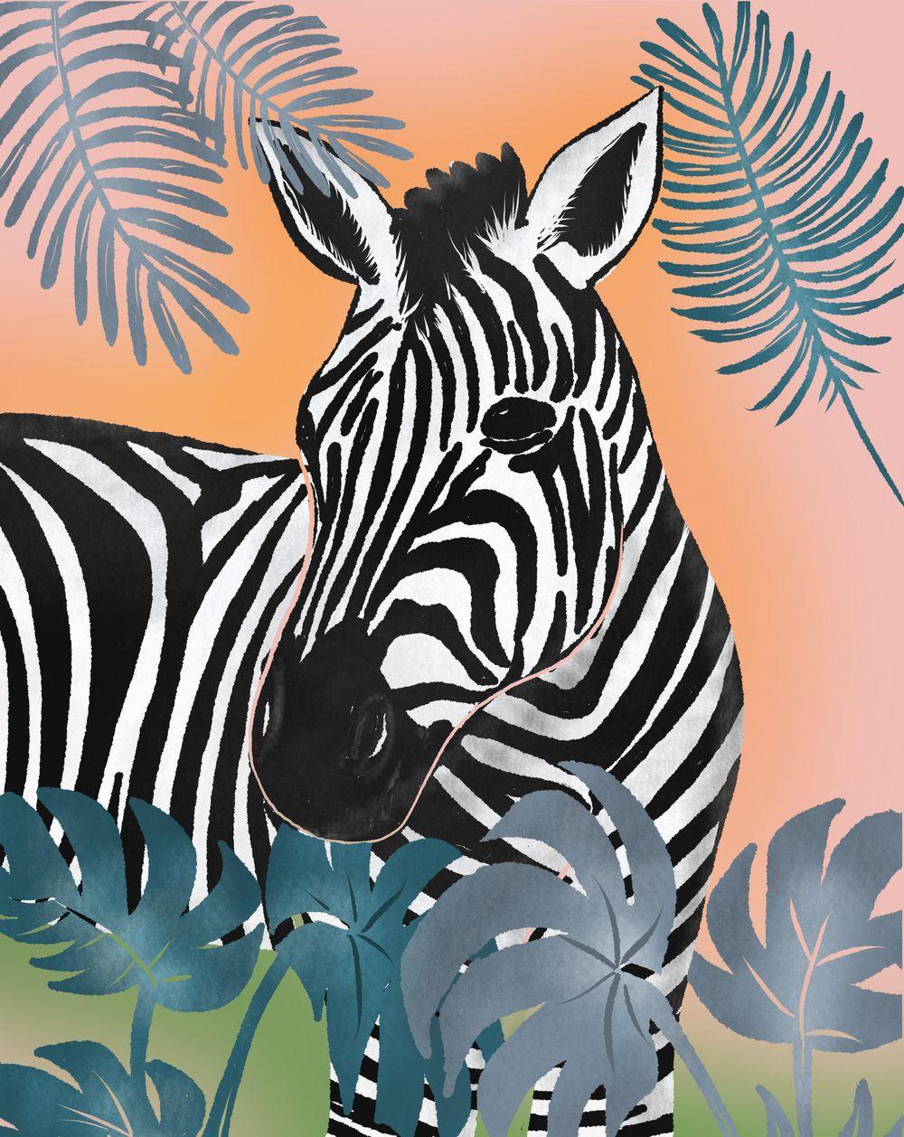 My zebra - image 1 - student project
