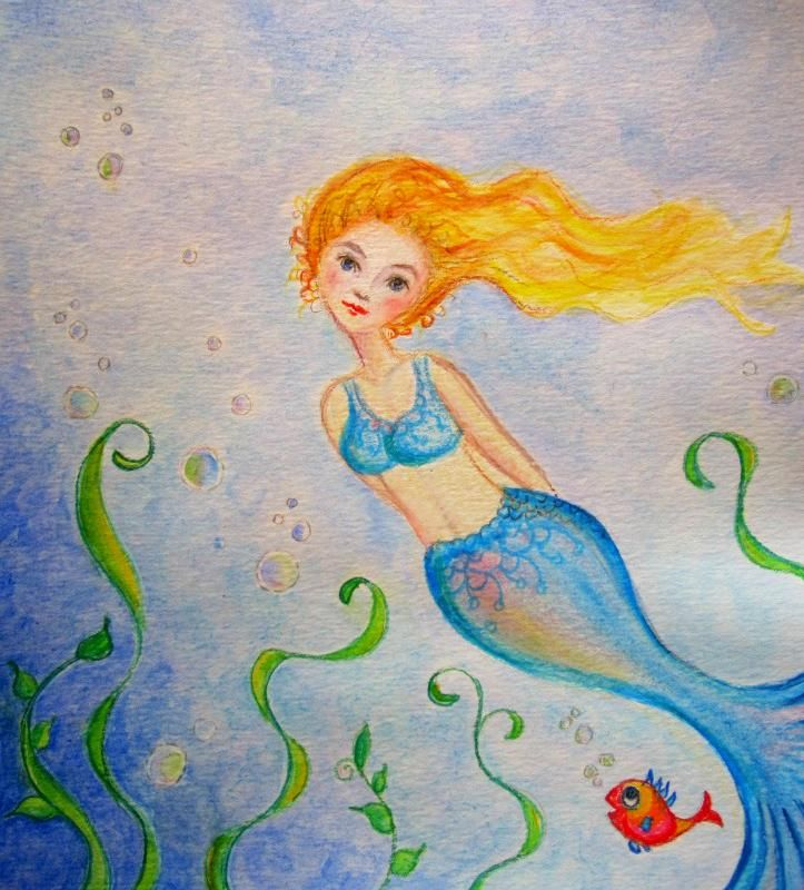 Pretty Mermaid - image 2 - student project