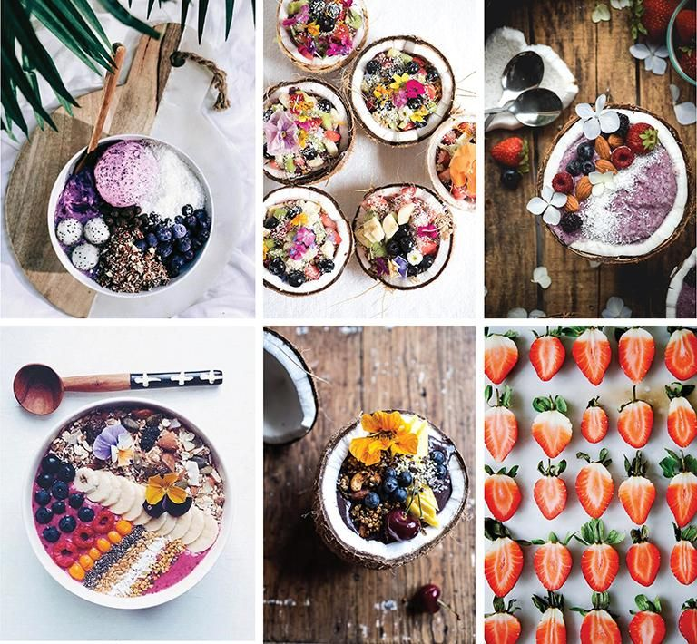 Berry & Coconut Smoothie Bowl - image 1 - student project