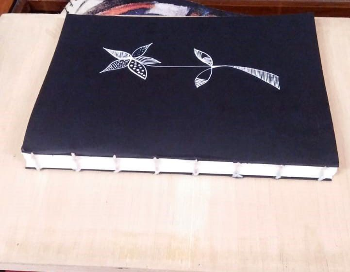 Coptic Binding: My first book :) - image 1 - student project