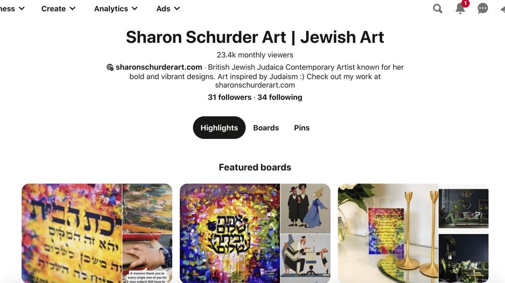 Sharon Schurder Art Pinterest Board - image 2 - student project