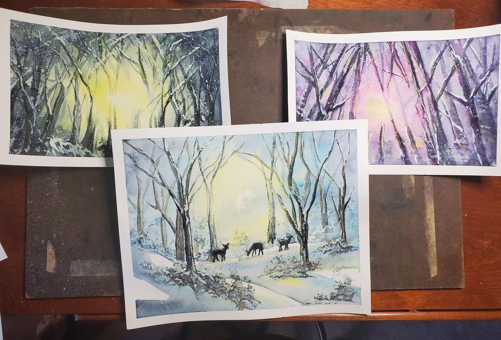 Magical Forest x3 - image 1 - student project