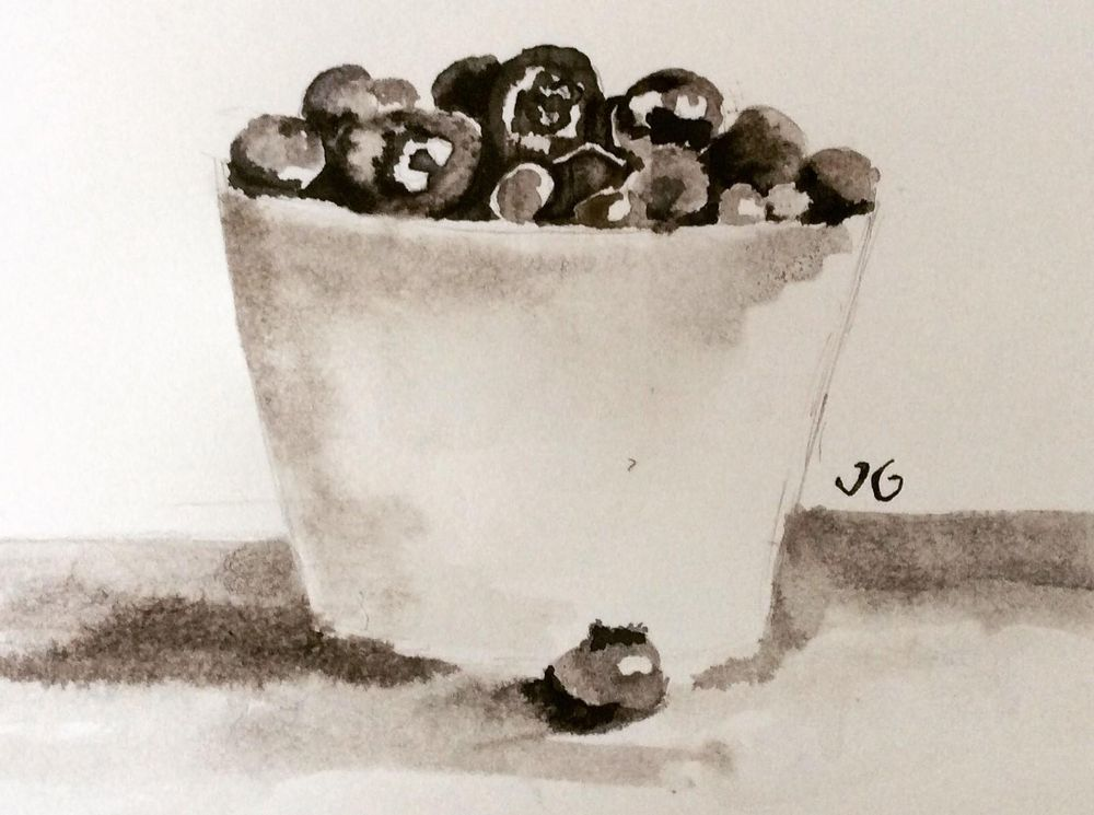 Black Ink Study - image 2 - student project