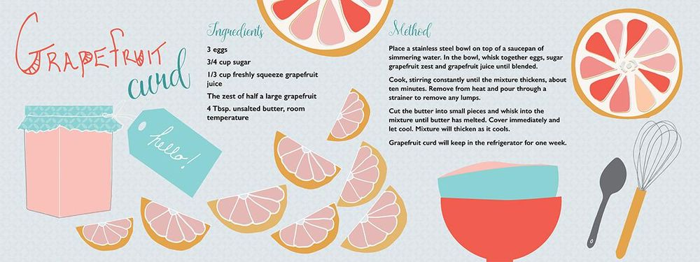 Grapefruit Curd - image 3 - student project