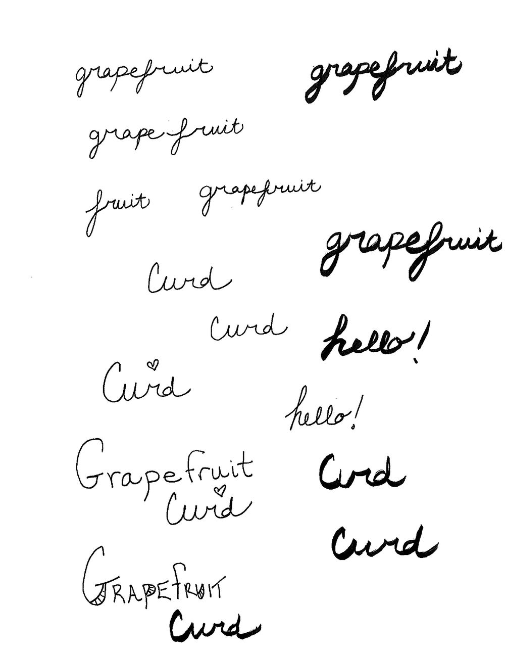 Grapefruit Curd - image 2 - student project