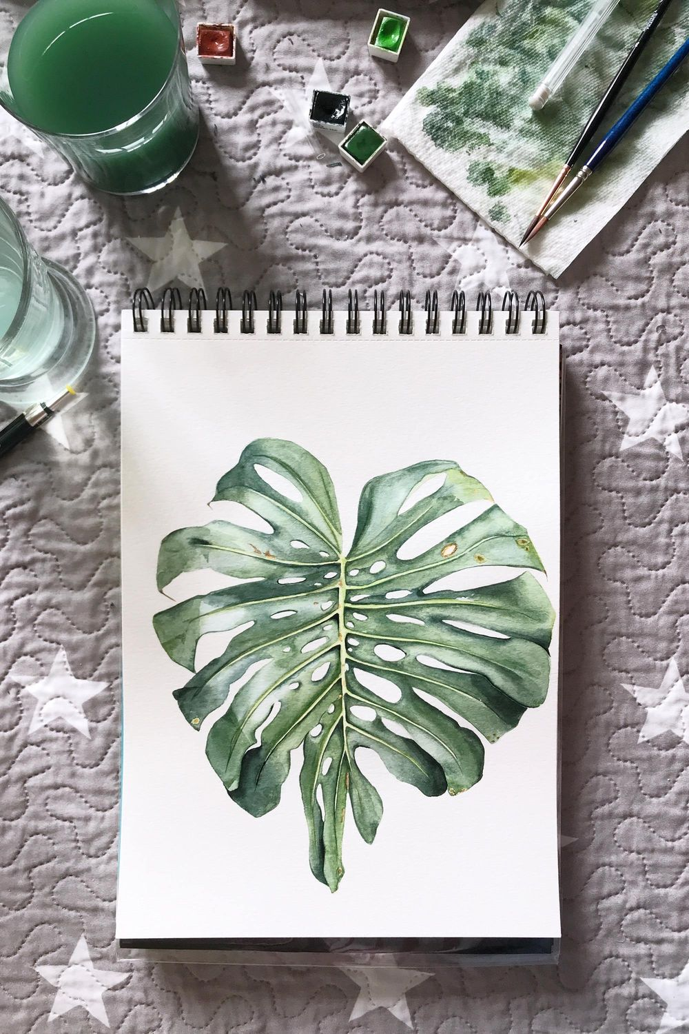 Monstera Leaf - image 1 - student project