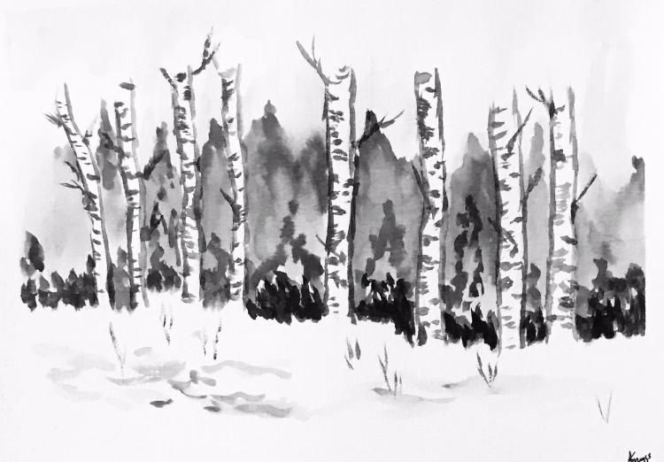 Winter snow - image 6 - student project