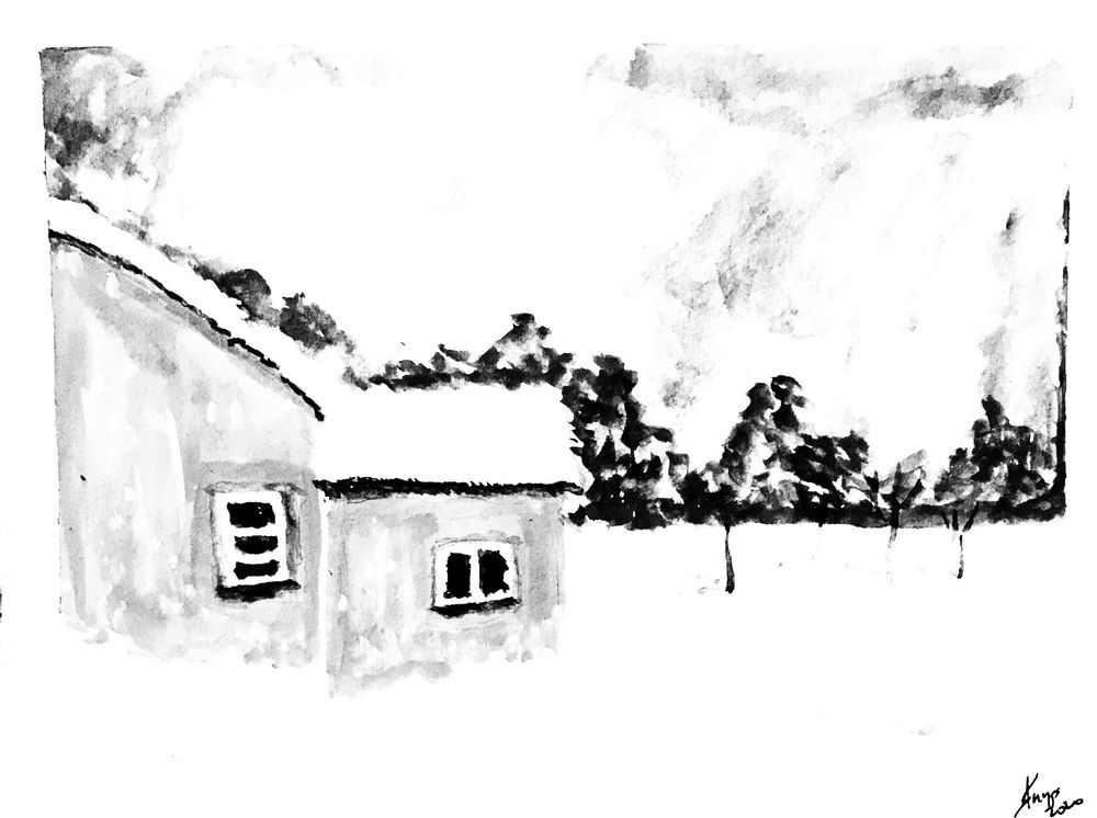 Winter snow - image 2 - student project