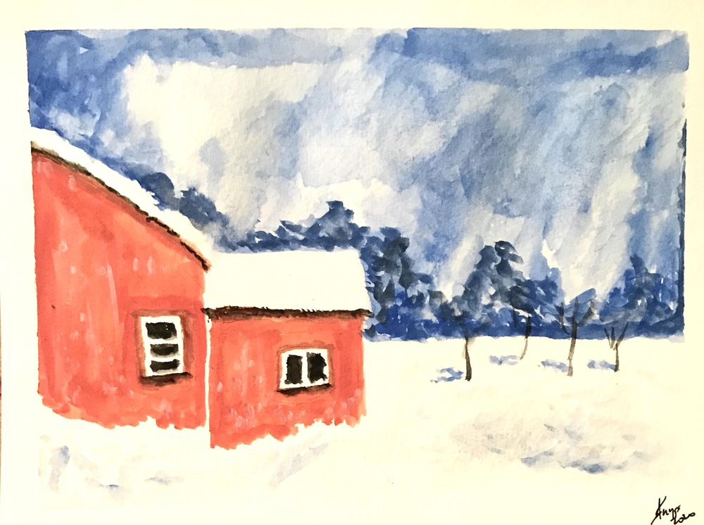 Winter snow - image 1 - student project