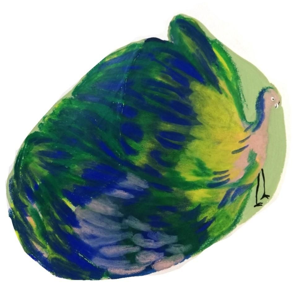 Three blobs with faces - image 1 - student project