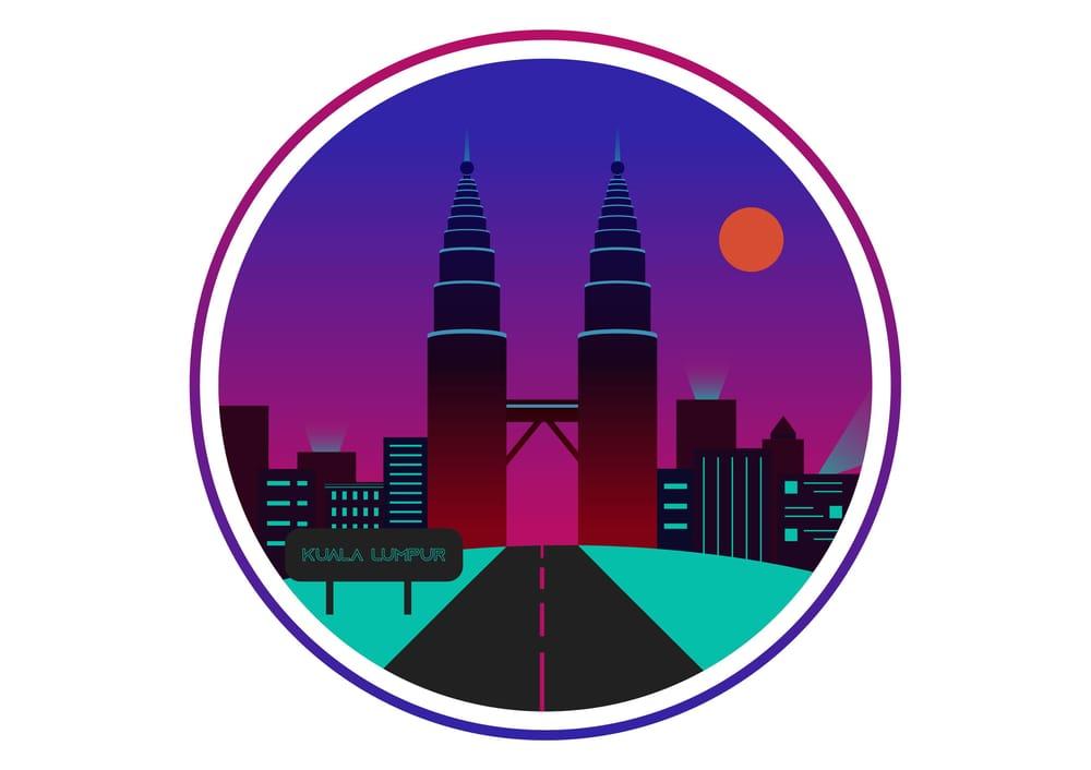 Cyberpunk city - image 1 - student project