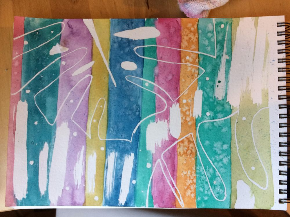 Watercolour & Mixed Media  - image 2 - student project