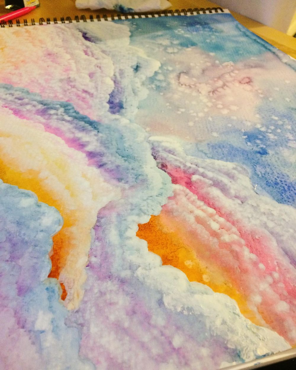 Watercolour & Mixed Media  - image 5 - student project