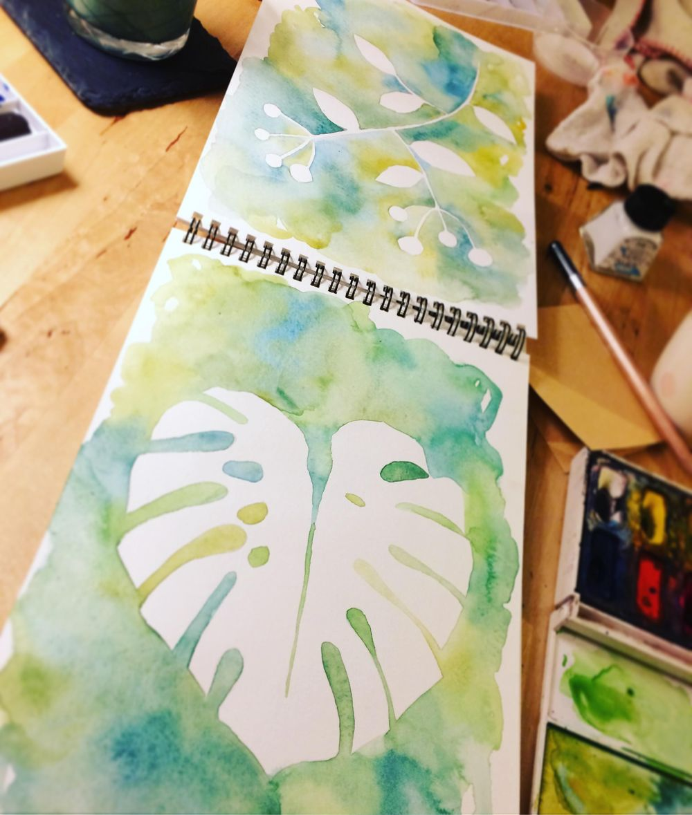Watercolour & Mixed Media  - image 1 - student project