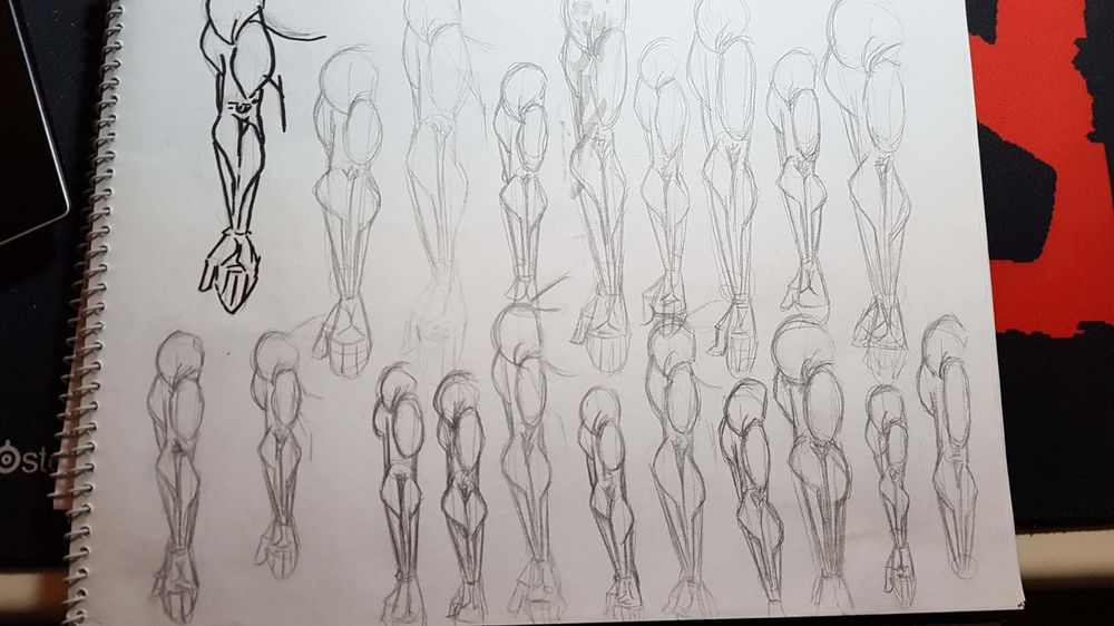 Male Figure Drawing - image 7 - student project