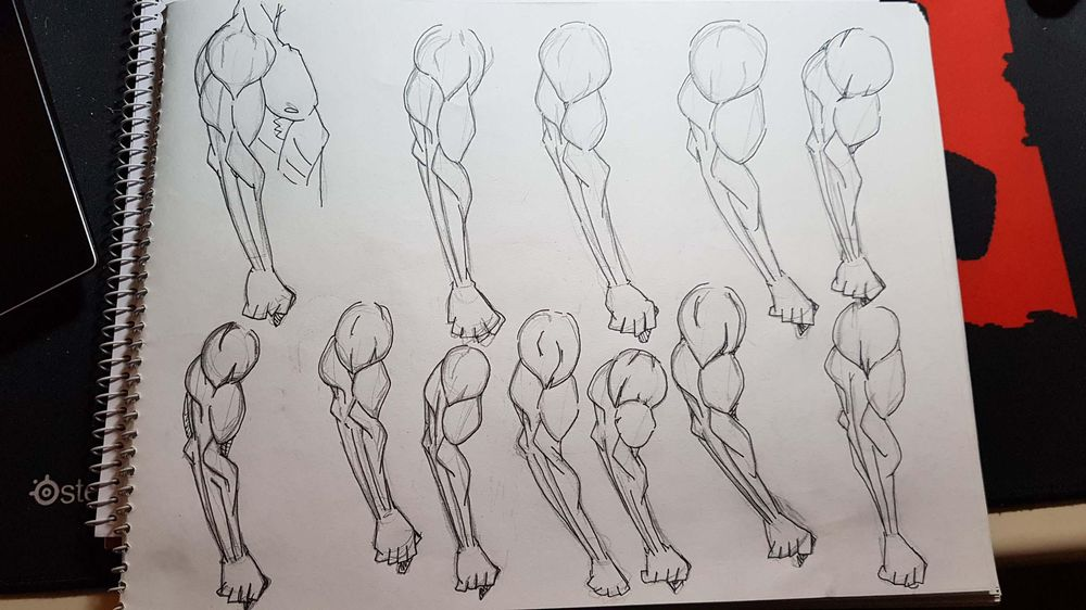 Male Figure Drawing - image 9 - student project