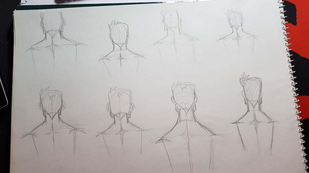 Male Figure Drawing - image 3 - student project