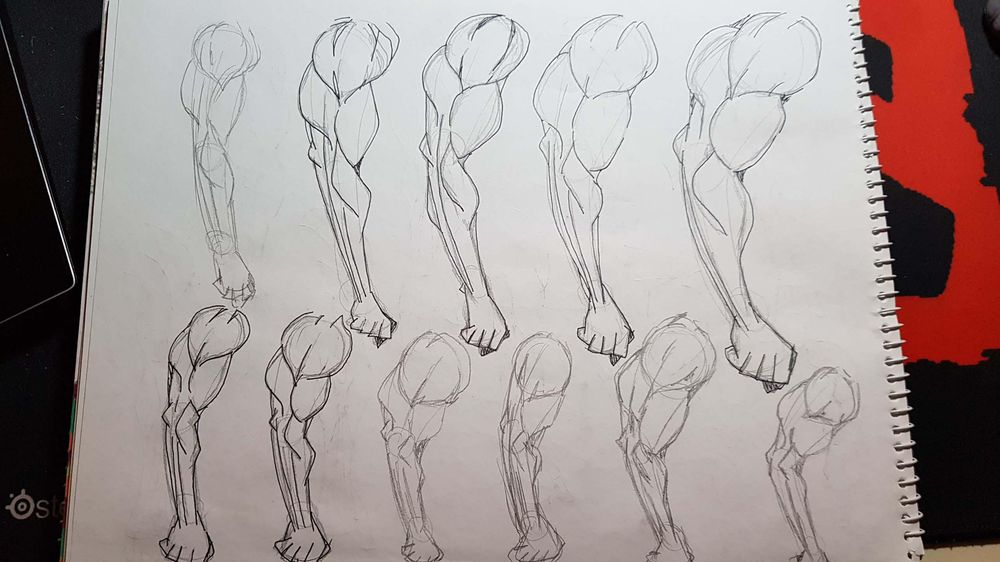 Male Figure Drawing - image 8 - student project