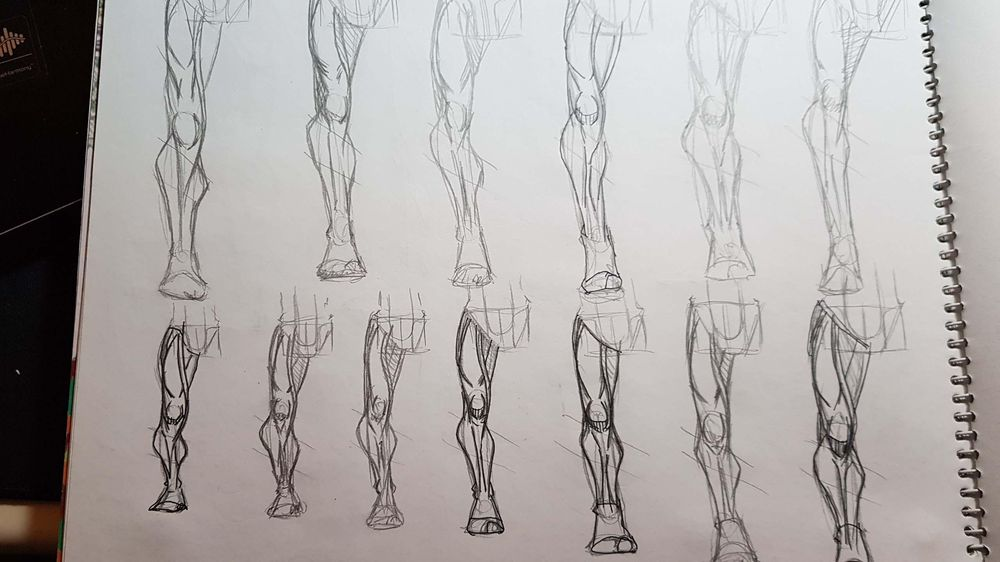 Male Figure Drawing - image 11 - student project