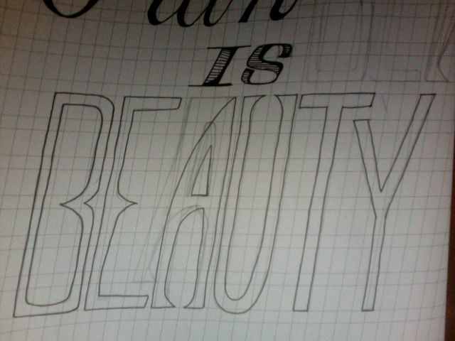 Pain is BEAUTY - image 2 - student project