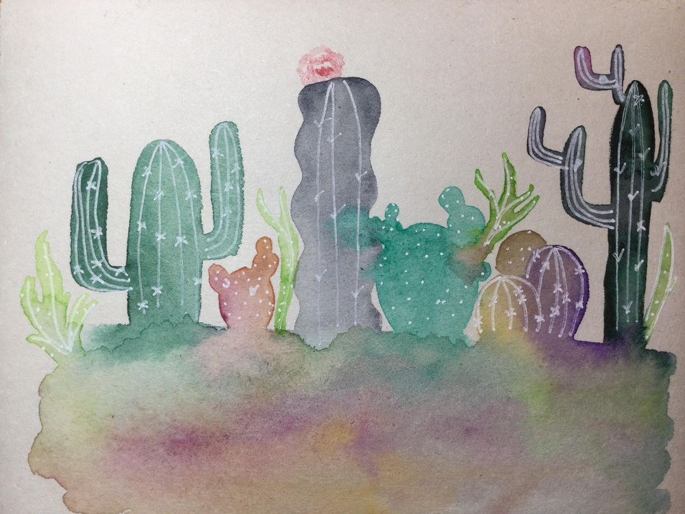 Cacti - image 1 - student project