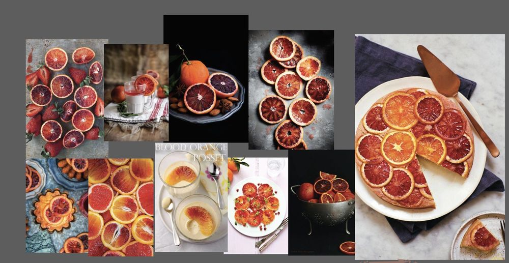 blood orange, cornmeal and ricotta cake  - image 1 - student project