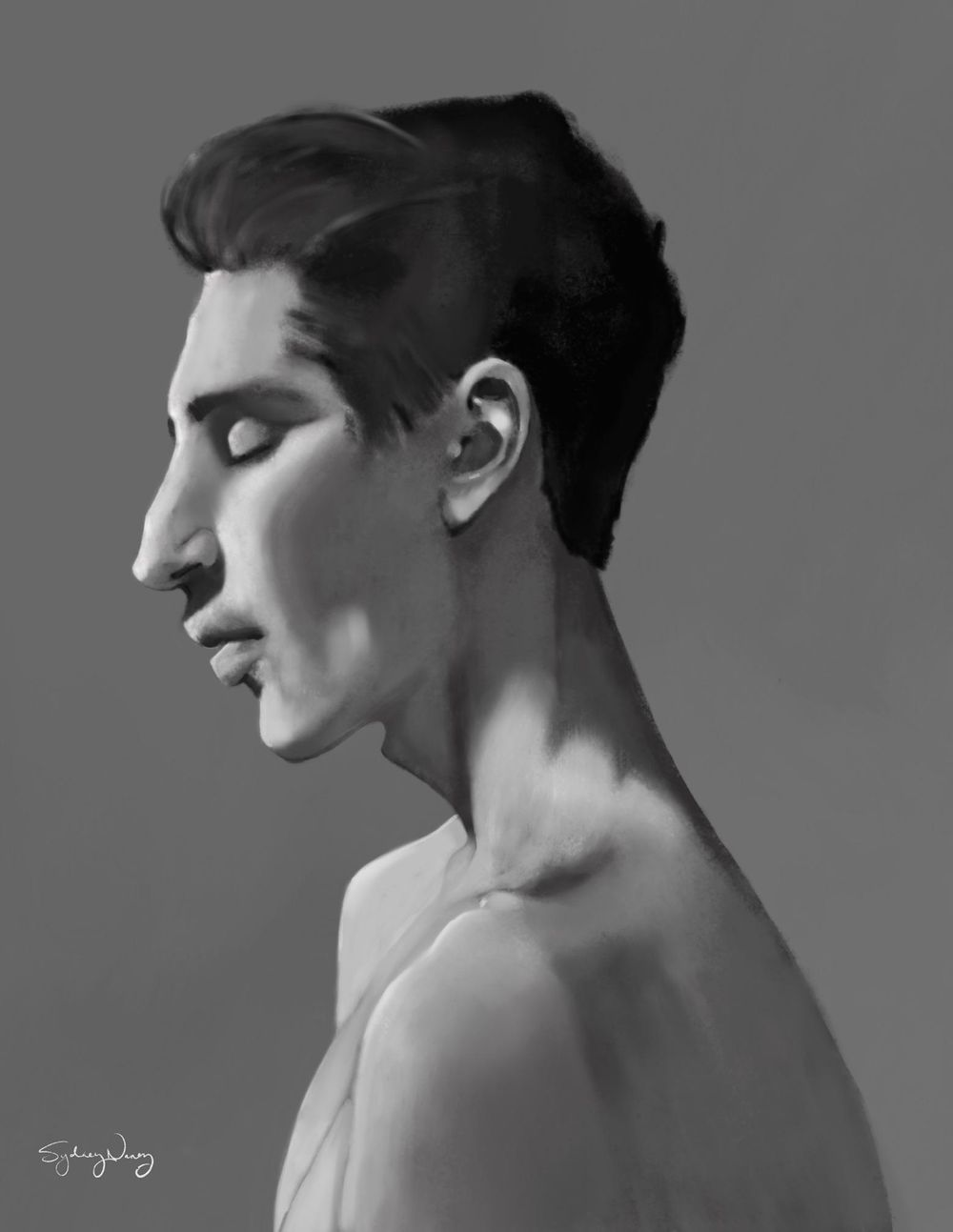 Stylized Portrait - image 1 - student project