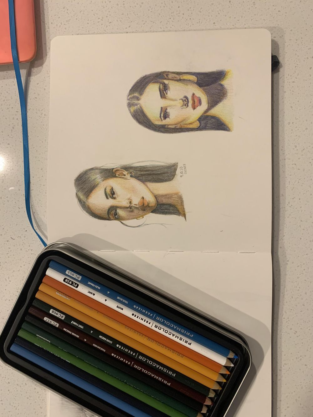 Colored pencil project - image 2 - student project