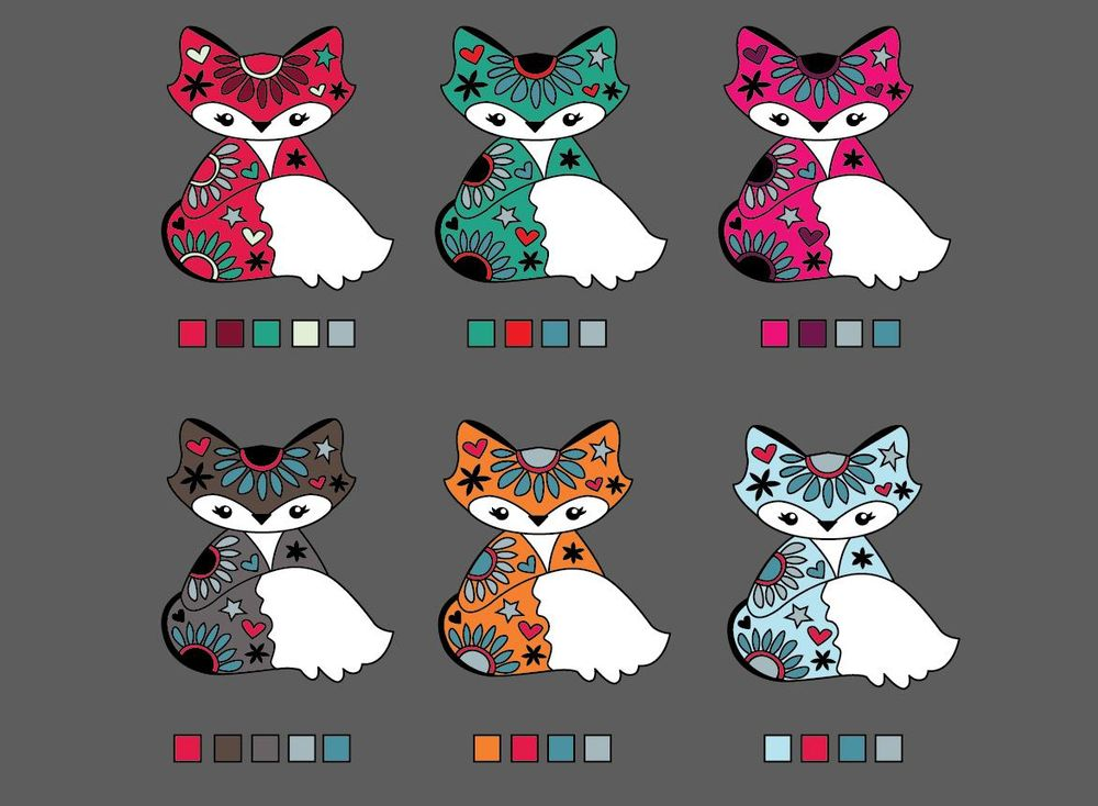 Hey Foxy!!!  My pen tool enamel pin project - image 9 - student project