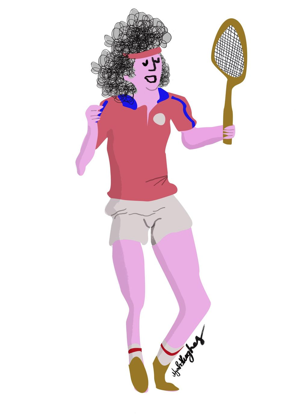 Tennis Player - image 1 - student project