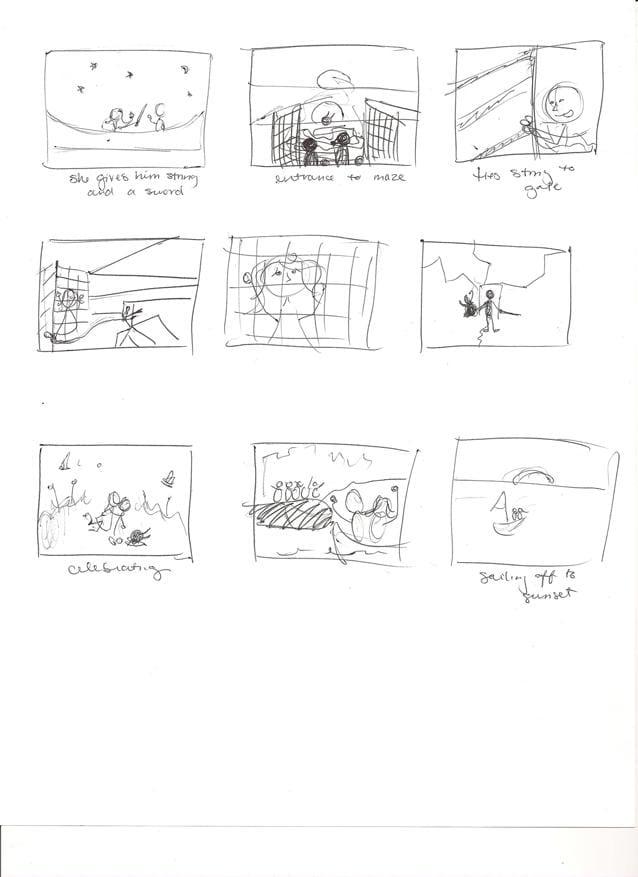 Minotaur - Prince Theseus's Arrival - image 3 - student project