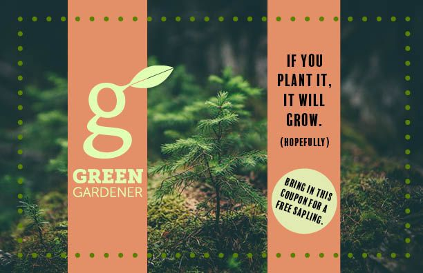 Green Gardener Flyer - image 1 - student project