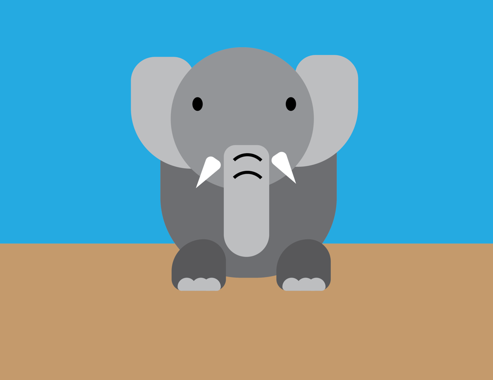Project 1: Simple Shaped Animal - image 1 - student project