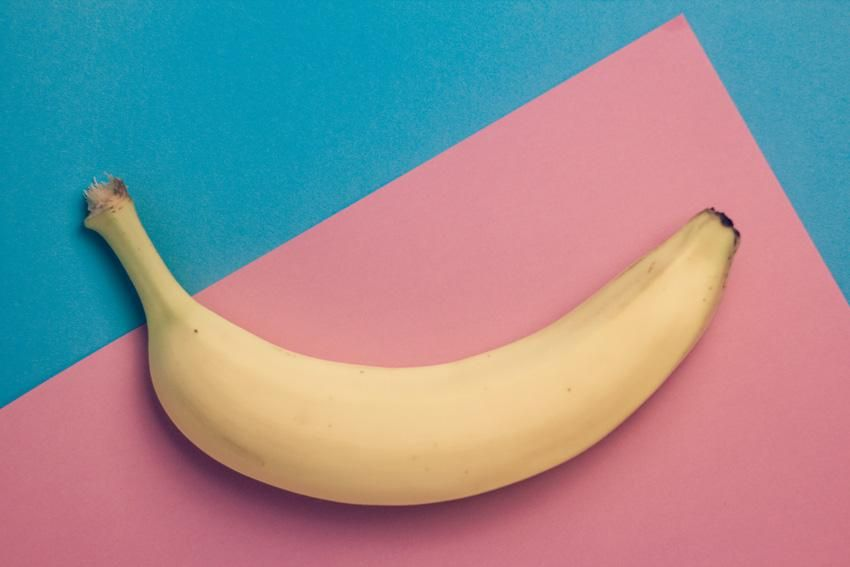 Banana cutout in Photoshop - image 1 - student project