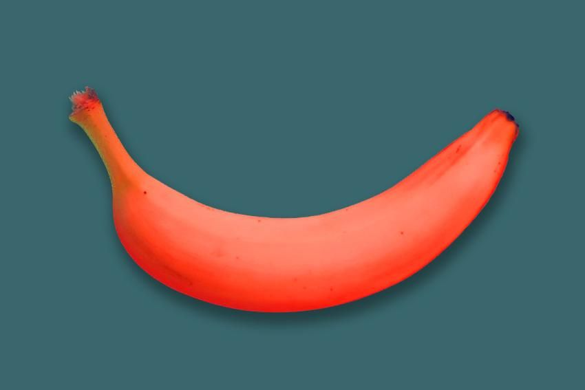 Banana cutout in Photoshop - image 2 - student project