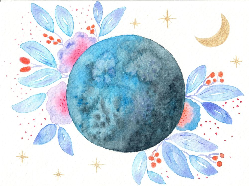 My Flower Moon - image 1 - student project