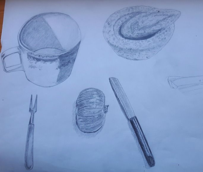 My 30 days drawing challenge  COMPLETED :) - image 5 - student project