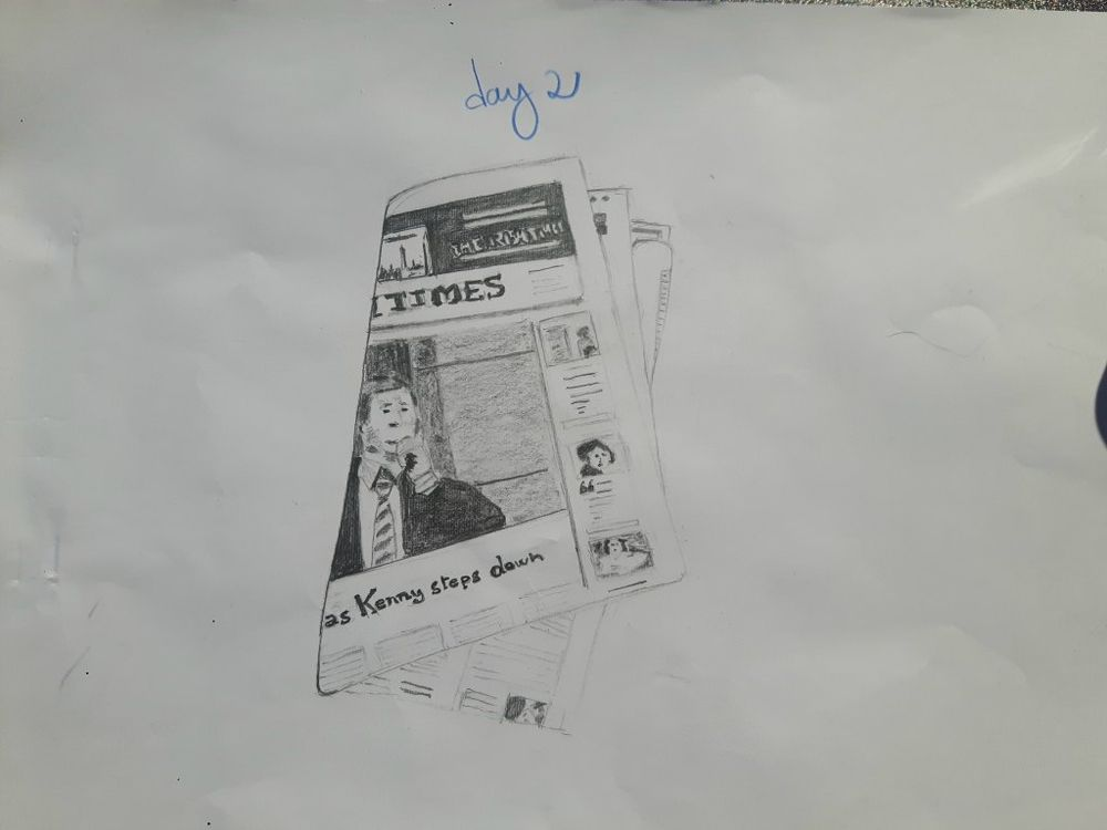 My 30 days drawing challenge  COMPLETED :) - image 12 - student project