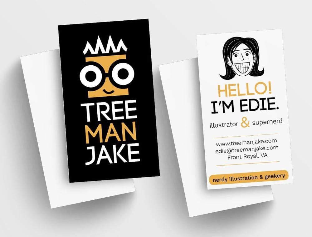 treemanJAKE Business Card - image 14 - student project