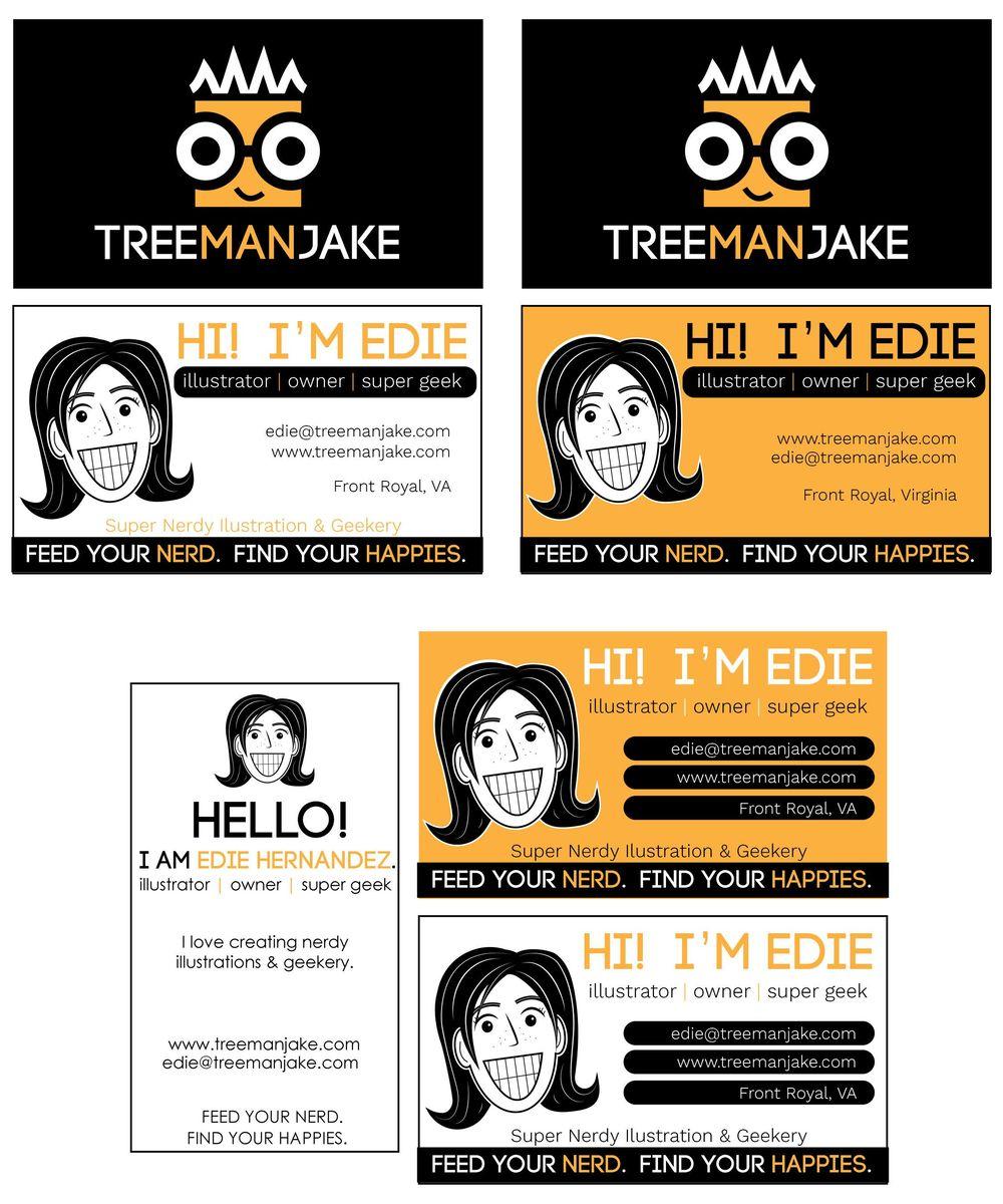 treemanJAKE Business Card - image 11 - student project