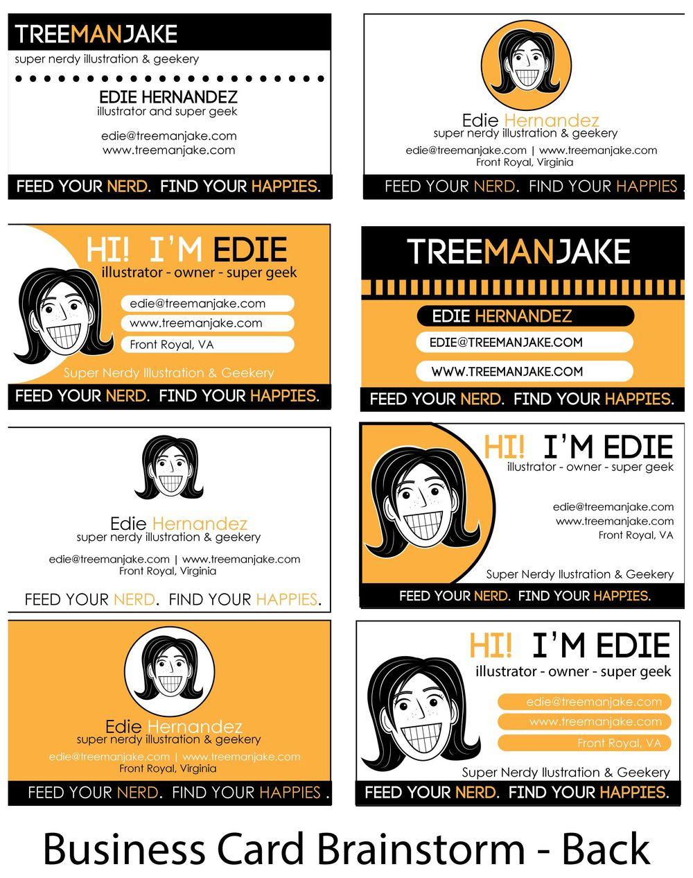 treemanJAKE Business Card - image 10 - student project