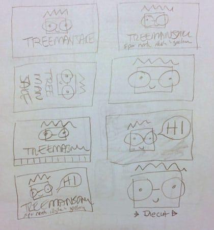 treemanJAKE Business Card - image 7 - student project
